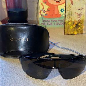 Gucci mens vintage sunglasses with original case